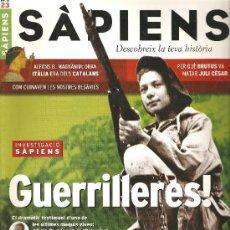 Coleccionismo de Revistas y Periódicos: REVISTA SÀPIENS Nº 23. Lote 27601622