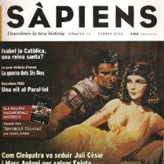 Coleccionismo de Revistas y Periódicos: REVISTA SÀPIENS Nº 16. Lote 22475854