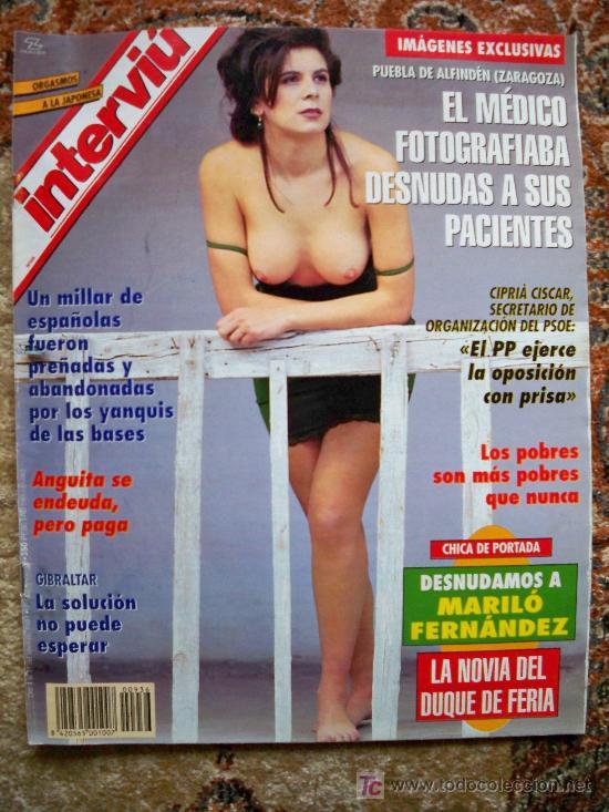 Spanish Magazine Interviu Nº 936 Mariló Fer Vendido En Venta