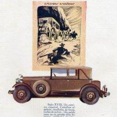 Coleccionismo de Revistas y Periódicos: LINCOLN 1930 HOJA REVISTA. Lote 11716454