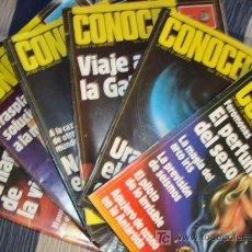 Coleccionismo de Revistas y Periódicos: CONOCER, LOTE DE 6 REVISTAS MIRAR FOTOS PARA VER NUMEROS. Lote 11782991