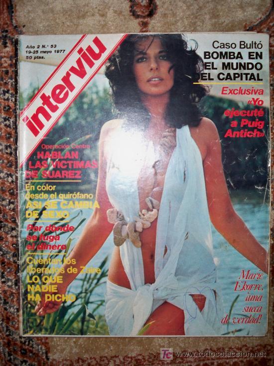 INTERVIU Nº 53 - MARIE EKORRE. AFRICA PRAT - 19-MAY-77 (Coleccionismo - Revistas y Periódicos Modernos (a partir de 1.940))