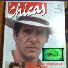Coleccionismo de Revistas y Periódicos: REVISTA CHICAS DE BRUGUERA, Nº 12, CONTRAPORTADA POSTER DE DURAN-DURAN. Lote 51010643