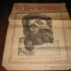 Coleccionismo de Revistas y Periódicos: LOS HIJOS DEL PUEBLO JUEVES 24 DE MARZO DE 1932. Lote 16237538