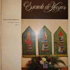 Coleccionismo de Revistas y Periódicos: ESCIELA DE HOGAR, PUBLICACION TRIMESTRAL . LABORES ,HOGAR, MODA, COCINA 1965/66 Nº47. Lote 11851264
