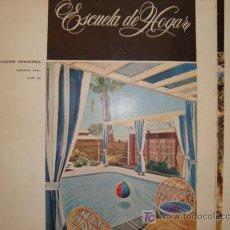 Coleccionismo de Revistas y Periódicos: ESCIELA DE HOGAR, PUBLICACION TRIMESTRAL . LABORES ,HOGAR, MODA, COCINA 1967 Nº53. Lote 11851284