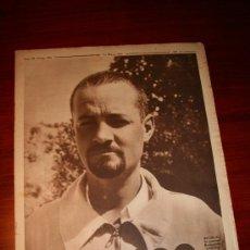 Coleccionismo de Revistas y Periódicos: CRÓNICA - 30 MAYO 1937 - PORTADA: FRANCISCO GALÁN, UNO DE LOS GRANDES JEFES DEL EJERCITO REPUBLICANO. Lote 27013119
