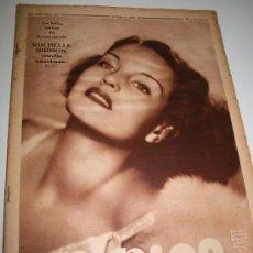 Coleccionismo de Revistas y Periódicos: CRÓNICA - 16 FEBRERO 1936 -PORTADA: ROCHELLE HUDSON, CONTRAPORTADA: BIBÍ MARCELLÁN BELLEZA ARAGONESA. Lote 11901893