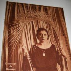 Coleccionismo de Revistas y Periódicos: CRÓNICA - 5 ABRIL 1936 - DIALOGO ENTRE ESTRELLITA CASTRO Y ARMANDO PALACIO VALDÉS, ........ Lote 11902274