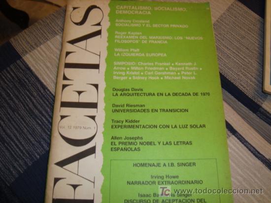 FRACETAS, CAPITALISMO , SOCIALISMO ,DEMOCRACIA , AÑO 79 (Coleccionismo - Revistas y Periódicos Modernos (a partir de 1.940) - Otros)