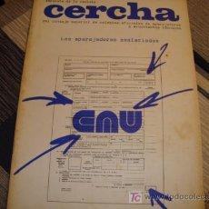 Coleccionismo de Revistas y Periódicos: CERCHA, SEPARATA DE LA REVISTA, LOS APAREJADORES ASALARIADOS 1975. Lote 11903458