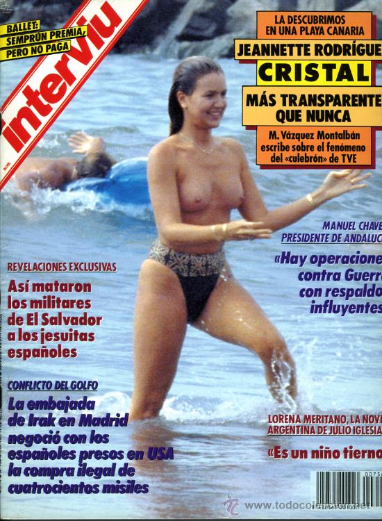 Interviu Nº 756 1990 Jeannette Rodriguez C Sold Through