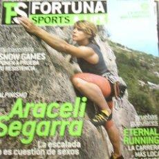 Coleccionismo de Revistas y Periódicos: REVISTA FORTUNA SPORTS & LIFE Nº 22, MARZO 2005. ARACELI SEGARRA,.... Lote 12071485