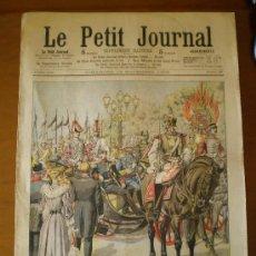 Coleccionismo de Revistas y Periódicos: LE PETIT JOURNAL Nº 783 (19/11/1905) ALFONSO XIII ALEMANIA BERLIN LA TOUR DU PIN GRENOBLE. Lote 22622810
