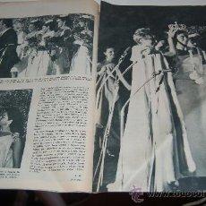 Coleccionismo de Revistas y Periódicos: PAQUITA TORRES ELEGIDA MISS ESPAÑA 1966. Lote 13075634