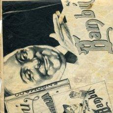Colecionismo de Revistas e Jornais: BAMBU 1933 PAPEL DE FUMAR HOJA REVISTA. Lote 12308665