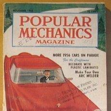 Coleccionismo de Revistas y Periódicos: POPULAR MECHANICS MAGAZINE 1956. Lote 20664312