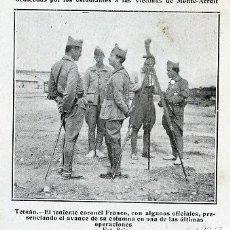 Coleccionismo de Revistas y Periódicos: MARRUECOS 1922 FRANCO TENIENTE CORONEL RETAL REVISTA. Lote 23508331