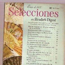 Coleccionismo de Revistas y Periódicos: REVISTA READER'S SELECCIONES ENERO 1955 LAS NACIONES UNIDAS LOS MICROBIOS. Lote 18847318