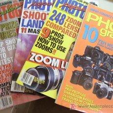 Coleccionismo de Revistas y Periódicos: LOTE DE 5 REVISTAS POPULAR PHOTOGRAPHY, JULIO 1996, AGOSTO 1996, OCTUBRE 1996 Y ENERO 1997, Y 1 MÁS. Lote 27344795