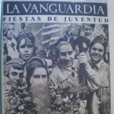 Coleccionismo de Revistas y Periódicos: LA VANGUARDIA 15/11/1936 FRENTE DE ARAGON-VALENCIA GUERRA CIVIL VER FOTOS. Lote 12602634