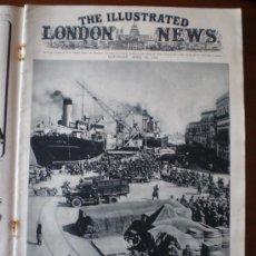 Coleccionismo de Revistas y Periódicos: THE ILLUSTRATED LONDON NEWS Nº 5.217 (15/04/39) GUERRA CIVIL MADRID INVASION ALBANIA ITALIA. Lote 24048036