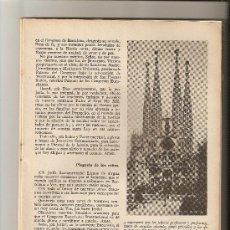 Coleccionismo de Revistas y Periódicos: REVISTA.AÑO 1952.JOSE MARIA PEDRO COUDRIN.XXXV CONGRESO EUCARISTICO INTERNACIONAL.DOCTOR MODREGO.. Lote 12678587