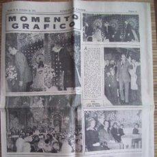 Coleccionismo de Revistas y Periódicos: HERALDO DE ARAGON . REPORTAJE EXTRAIDO DEL PERIODICO. VISITA REYES DE ESPAÑA PILAR ZARAGOZA 16-12-75. Lote 12697285
