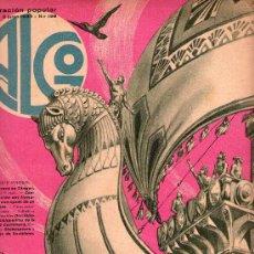 Coleccionismo de Revistas y Periódicos: LOTE DE 23 REVISTAS. ALGO AÑO1933 N 211,212,215,218,220,222,224,227,AÑO 1934 N 227,230,236. Lote 15725641