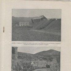 Coleccionismo de Revistas y Periódicos: IBERICA 109 AÑO 1916 MINA DE CARBON DE UTRILLAS FOTOS TERUEL MANDIBULA NEANDERTAL BAÑOLAS. Lote 27543909