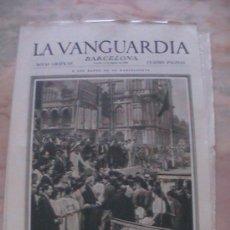 Coleccionismo de Revistas y Periódicos: ANTIGUO DIARIO LA VANGUARDIA BARCELONA NOTAS GRAFICAS CUATRO PAGINAS 11 DE AGOSTO DE 1933. Lote 25977566