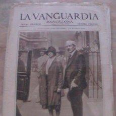 Colecionismo de Revistas e Jornais: ANTIGUO DIARIO LA VANGUARDIA BARCELONA NOTAS GRAFICAS CUATRO PAGINAS 18 DE OCTUBRE DE 1929. Lote 21705065