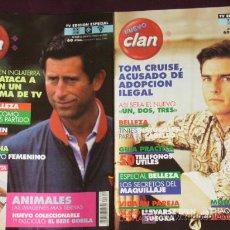 Coleccionismo de Revistas y Periódicos: REVISTA CLAN ,AÑO 1987 N 348 ARTICULO SOBRE PIERCE BROSNAN,AÑO1987 N 349ARTICULO SOBRE TOM CRUISE. Lote 18747055