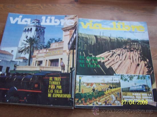 VIA LIBRE, NSº. 230,231,232, 234, 238 - CINCO REVISTAS-1983 (Coleccionismo - Revistas y Periódicos Modernos (a partir de 1.940) - Otros)