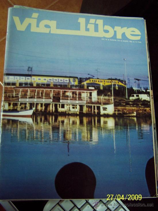 Coleccionismo de Revistas y Periódicos: VIA LIBRE, Nsº. 230,231,232, 234, 238 - CINCO REVISTAS-1983 - Foto 3 - 24370910