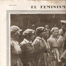 Coleccionismo de Revistas y Periódicos: AÑO 1919 HUELGA DE LA CANADIENSE FEMINISMO Y LA GUERRA CIUDAD AREVALO AVILA MISTINGUETT JULIO BURELL. Lote 13100926