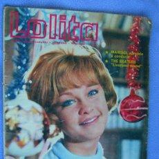 Coleccionismo de Revistas y Periódicos: FOTONOVELA LOLITA .MARISOL. THE BEATLES . Lote 13152801