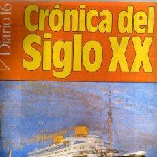 Coleccionismo de Revistas y Periódicos: FASCICULO COLECCIONABLE Nº 32. CRÓNICA DEL SIGLO XX. PERIÓDICO DIARIO 16.. Lote 13189084