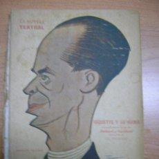 Coleccionismo de Revistas y Periódicos: LA NOVELA TEATRAL, AÑO II, Nº 55, AÑO 1917,MIQUETTE Y SU MAMA,DE ROBERT Y GALLIVERT. Lote 13200360