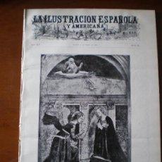 Coleccionismo de Revistas y Periódicos: ILUSTRACION ESPAÑOLA/AMERICANA (22/03/10) JERUSALEN MURCIA MADRID TIZIANO JUANES SEVILLA ANUNCIACION. Lote 25892719