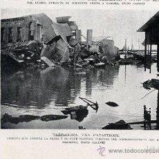 Coleccionismo de Revistas y Periódicos: TARRAGONA 1930 INUNDACION CLUB NAUTICO RETAL REVISTA. Lote 13248712
