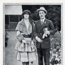 Coleccionismo de Revistas y Periódicos: DUQUESA DE ALBA 1920 MATRIMONIO DUQUE DE ALBA HOJA REVISTA. Lote 25931042