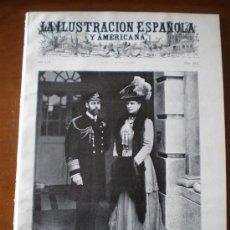 Coleccionismo de Revistas y Periódicos: ILUSTRACION ESPAÑOLA/AMERICANA (22/05/10) EL ESCORIAL DIRIGLE COMETA HALLEY VALROSANOS JORGE V . Lote 25269186
