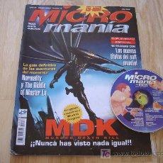Coleccionismo de Revistas y Periódicos: REVISTA MICRO MANÍA - AÑO XII - TERCERA EPOCA - NÚMERO 18: MDK + CD! (HOBBY PRESS, JULIO 1996). Lote 25512440