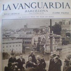 Coleccionismo de Revistas y Periódicos: LA VANGUARDIA 16 MARZO 1934 BARCELONA - MADRID-TARRAGONA-BOXEO VER FOTOS. Lote 13506281