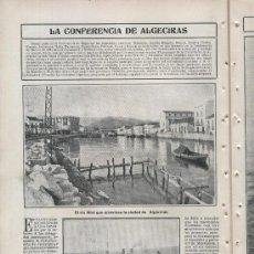 Coleccionismo de Revistas y Periódicos: REVISTA.1906.PRINCESA EN BIARRITZ.CONFERENCIA DE ALGECIRAS.CLEO MERODE.ESGRIMA.PUERTO DE BARCELONA. Lote 13599637