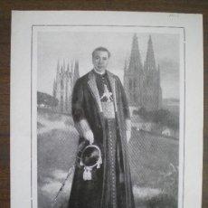 Coleccionismo de Revistas y Periódicos: RECORTE DE PRENSA 1921 - ARZOBISPO JUAN BENLLOCH - NATACION BARCELONA - GALGOS JEREZ DE LA FRONTERA. Lote 13675593