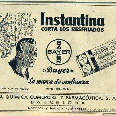 Coleccionismo de Revistas y Periódicos: BAYER 1950 INSTANTINA RETAL REVISTA. Lote 13765143