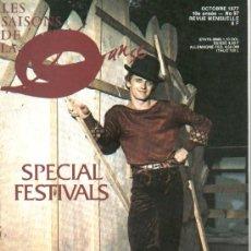Coleccionismo de Revistas y Periódicos: LES SAISONS DE LA DANSE N. 97 (OCTUBRE 1977) REVISTA BALLET. Lote 26914979