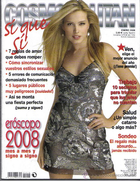 COSMOPOLITAN. ENERO 2008 (Coleccionismo - Revistas y Periódicos Modernos (a partir de 1.940) - Otros)